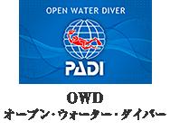 OWD オープン・ウォーター・ダイバー