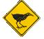 ヤンバルクイナの標識