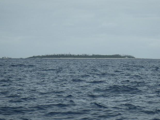 水納島遠景