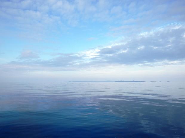 ケラマを眺めつつ、ルカン礁へ