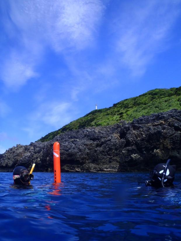 本島最北端・奥1泊2日で潜り歩き