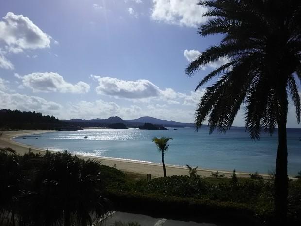 天気回復、気温上昇、日中最高23度!半袖日和の沖縄1月!
