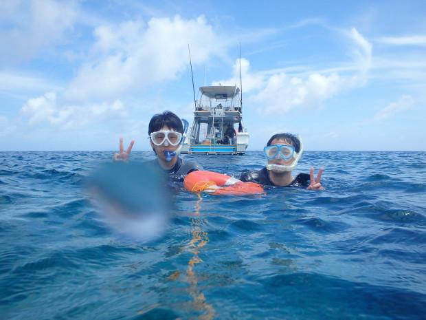 梅雨明け2日目の海!チービシでスノーケル&体験ダイビング!