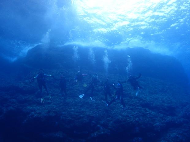 仲間と一緒に潜る!おかえりなさいダイブでケラマ海域へ!