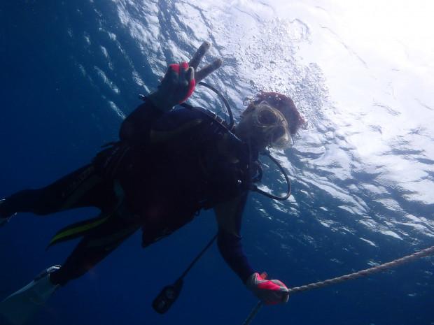 15年ブランクからのダイビング再開!台風5号前の穏やかな海で!